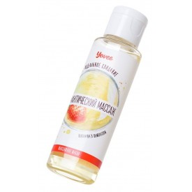 Масло для массажа «Романтический массаж» с ароматом клубники и шампанского - 50 мл.
